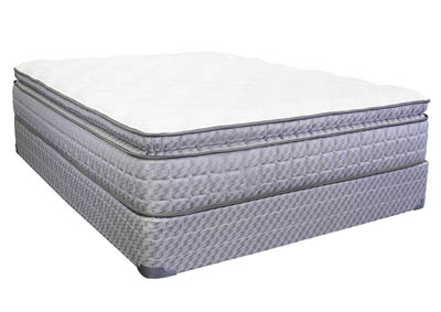 LILLY PILLOWTOP QUEEN MATTRESS SET