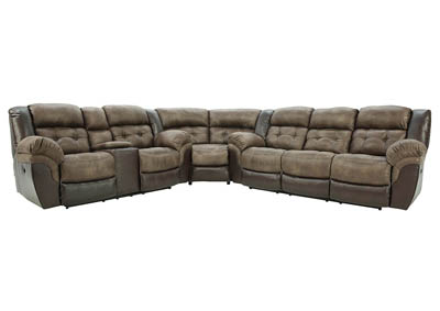 LOGAN 3 PIECE POWER SECTIONAL