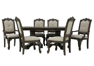 KEIRA 7 PIECE DINING SET