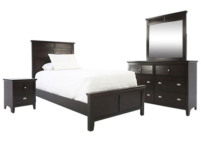 SPENCER BROWN TWIN  BEDROOM SET