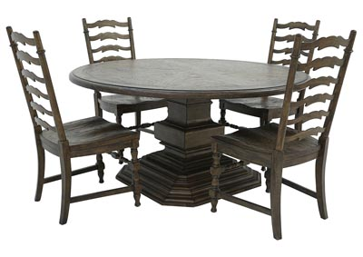BIG SKY 5 PIECE DINING SET