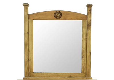 HONEY TEXAS STAR MIRROR