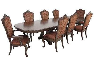 GENEVIEVE 9 PIECE DINING SET
