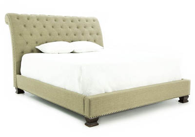 CHARLESTON QUEEN UPHOLSTERED BED
