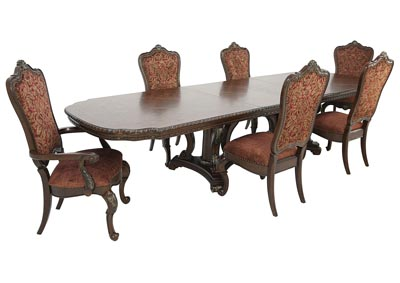 GENEVIEVE 7 PIECE DINING SET