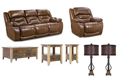 ENTERPRISE SADDLE  POWER LIVING ROOM SET