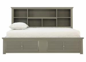 SPENCER GREY TWIN DAYBED WITH STORAGE