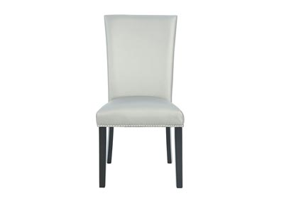 Image for CAMILA SILVER DINING HEIGHT SIDE CHAIR