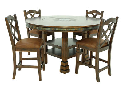 SANTA FE 5 PC DINING SET