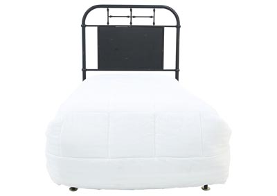 JOLENE VINTAGE BLACK TWIN HEADBOARD