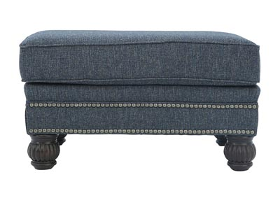 Image for HIGHLINE NAVY OTTOMAN