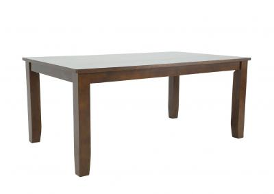 Image for VINTAGE BROWN DINING TABLE