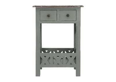 CHRISTIAN DRAWER ACCENT TABLE