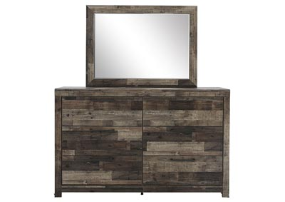 DEREKSON DRESSER AND MIRROR