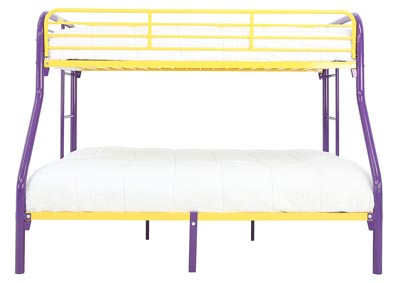 Image for MADISYN PURPLE/GOLD TWIN/FULL BUNKBED