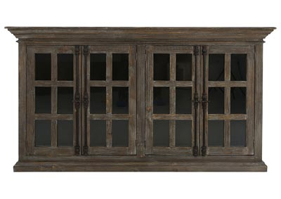 Image for JON 24 PANE CABINET W/GLASS