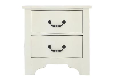 LAGRANGE JO'S WHITE NIGHTSTAND