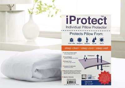 KING iPROTECT PILLOW PROTECTOR