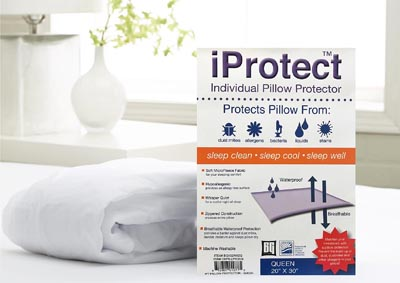 QUEEN iPROTECT PILLOW PROTECTOR