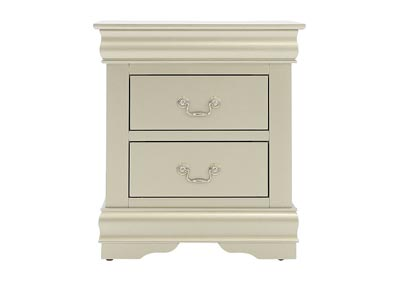 LOUIS PHILIP CHAMPAGNE NIGHTSTAND