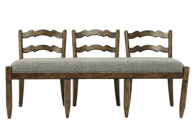 SOUTHERN PINES LADDERBACK DINING BENCH