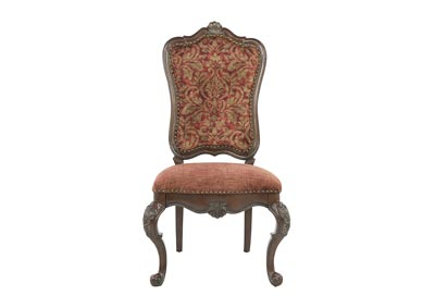 GENEVIEVE UPHOLSTERED SIDE CHAIR