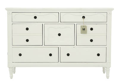 FRENCH INSPIRED JO S WHITE CAMEO YOUTH DRESSER