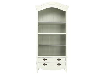 LOIRE LIGHT GRAY BOOKCASE