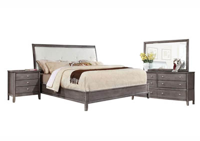 OLIVER GREY KING BEDROOM SET