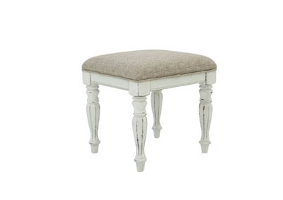 MAGNOLIA MANOR VANITY STOOL