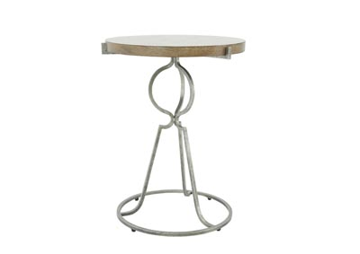 Image for RUSTIC PATINA SAND END TABLE