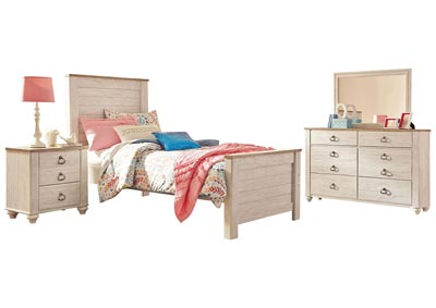 WILLOWTON FULL BEDROOM SET
