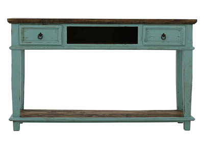 LAWMAN TURQUOISE CONSOLE