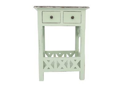 TIDEWATER ACCENT TABLE