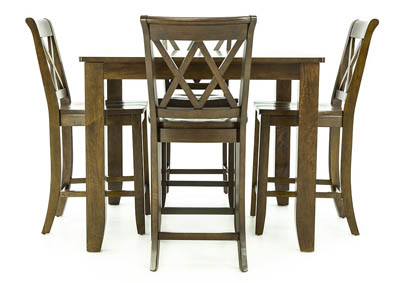 VINTAGE 5PC PUB DINING SET