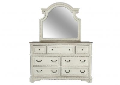 STEVENSON MANOR DRESSER AND MIRROR