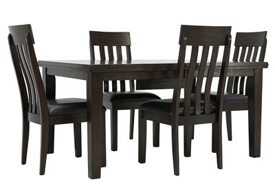HADDIGAN 5 PIECE DINING SET