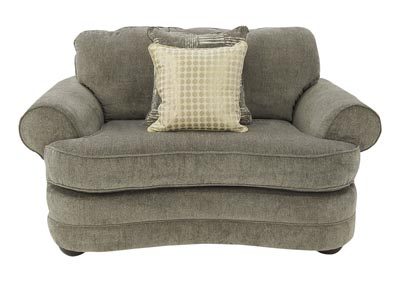 MADELYN PEWTER OVERSIZED CHAIR