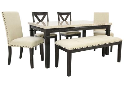 GREYSTONE 6PC DINING SET