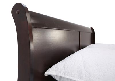 LOUIS PHILIP CHERRY KING BED ,CROWN MARK INT.