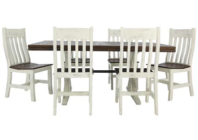 KARA RUSTIC DINING TABLE