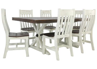 KARA RUSTIC 7PC DINING