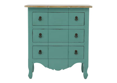 MARGAUX ROBINS EGG ACCENT  CHEST