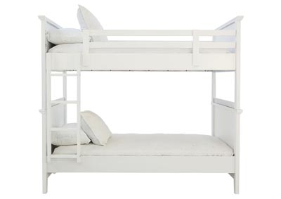 SPENCER WHITE TWIN/TWIN BUNKBED