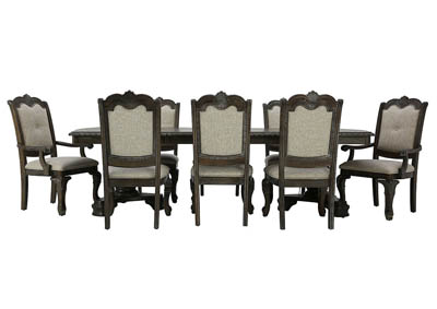 KEIRA 9 PIECE DINING SET