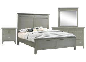 SPENCER GREY KING BEDROOM SET