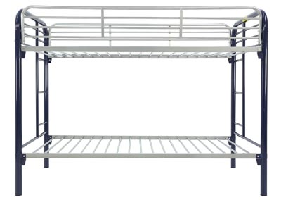 Image for MADISYN BLUE/SILVER TWIN/TWIN BUNKBED
