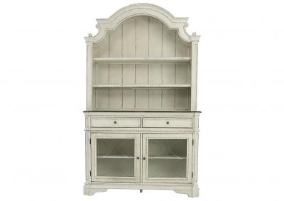 STEVENSON MANOR BUFFET AND HUTCH SET