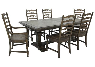 BIG SKY 7 PIECE DINING SET