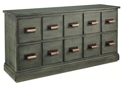 PATINA FINISH YOUTH BIN DRESSER